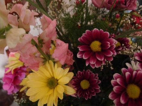 More Graduation Flowers!