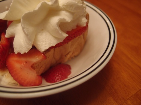 GF Angel Food Cake