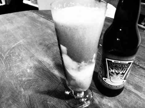 Espresso Stout Beer Float