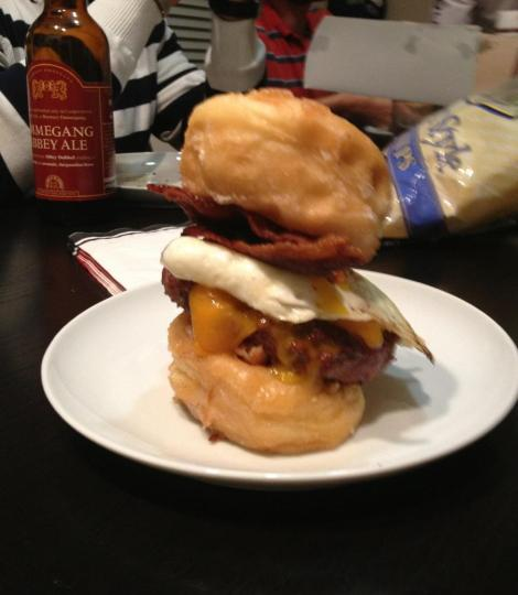 Ultimate Breakfast Burger