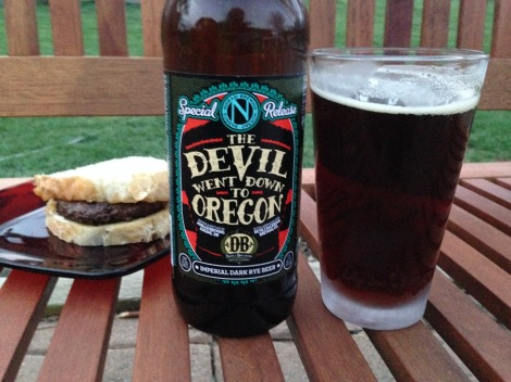 Rye Beer and Burger