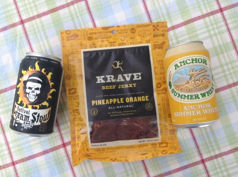 Jerky and Beer Tasting
